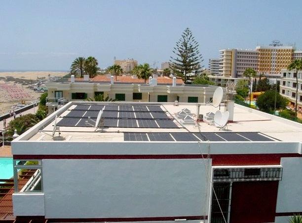 Solarabsorber für Schwimmbecken Erwärmung